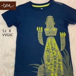 "🤘Tea Collection ""Creeping Crocodile!""  Sz 8."